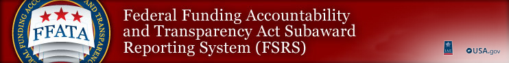 FSRS Subaward Reporting System, Integrated Acquisition Environment